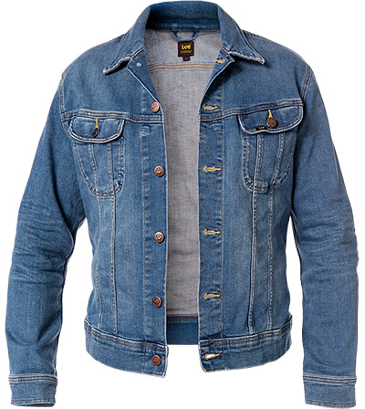 Lee Jeansjacke Slim Rider Fresh blau L89RKIUP