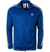 adidas ORIGINALS Sweatjacke blau