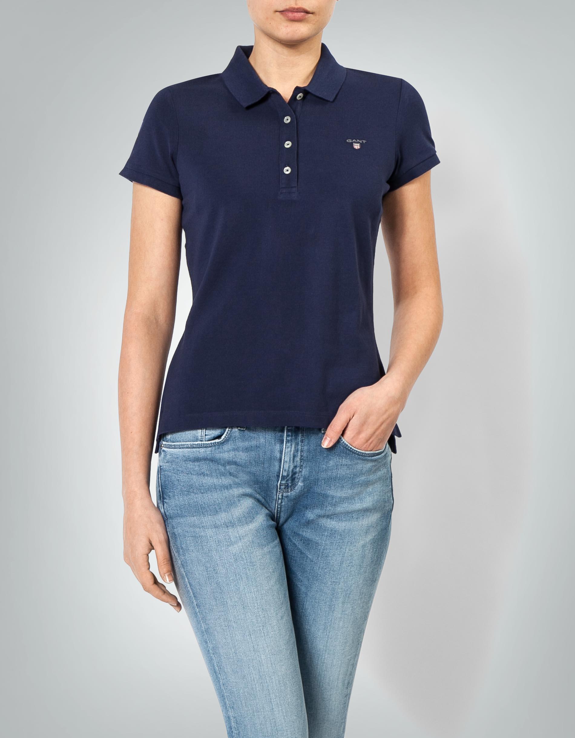 size 40 3cd0d d4f1e Gant Damen Polo-Shirt aus Piqué empfohlen von Deinen Schwestern