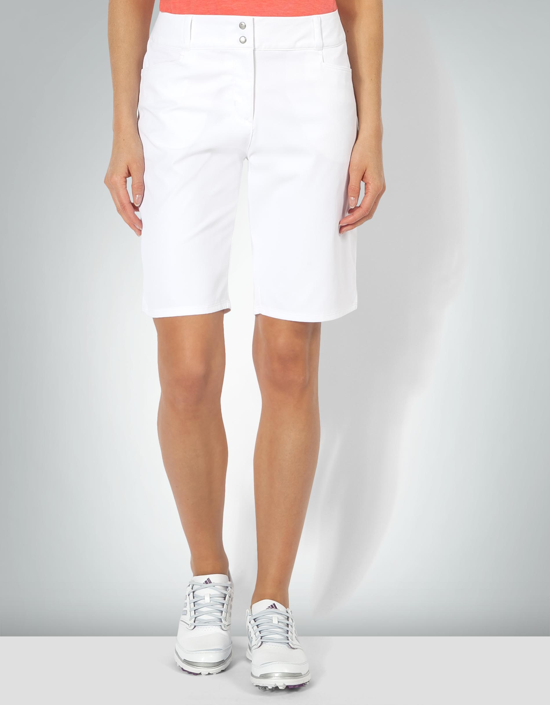 innovative design free shipping best online adidas Golf Damen Shorts weiß Golf- aus Mikrofaser empfohlen ...