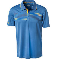 adidas Golf Polo-Shirt blau