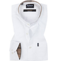 Barbour Hemd Fairfield white MSH4151WH11