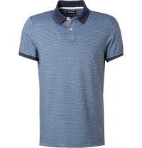 Barbour Polo-Shirt dress blue