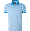 Barbour Polo-Shirt french blue MML0628BL43
