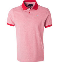 Barbour Polo-Shirt red