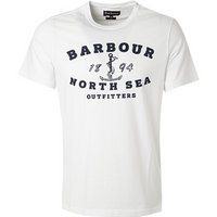 Barbour T-Shirt white