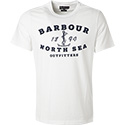 Barbour T-Shirt white MTS0390WH11