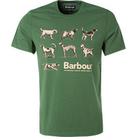 Barbour T-Shirt racing green
