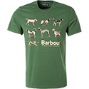 Barbour T-Shirt racing green MTS0374GN18