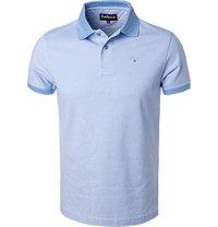 Barbour Polo-Shirt sky