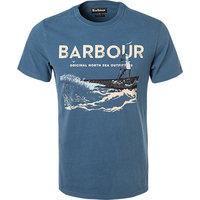 Barbour T-Shirt deep blue