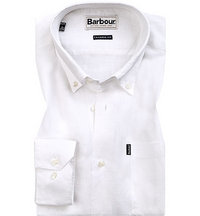 Barbour Hemd white MSH3336WH11