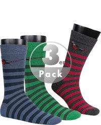 Barbour Socken 3er Pack Multicoloured