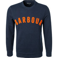 Barbour Pullover Prep Logo Crew navy
