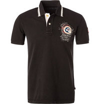 NAPAPIJRI Polo-Shirt schwarz