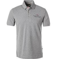 NAPAPIJRI Polo-Shirt grau meliert