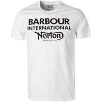 Barbour International T-Shirt white MTS0379WH11