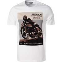 Barbour International T-Shirt white MTS0381WH11