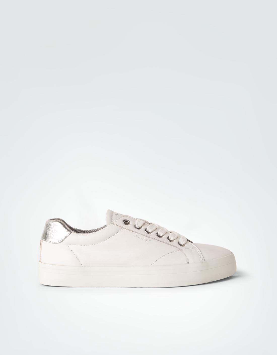 Kostenloser Versand Wirklich Online-Verkauf Gant Damen Schuhe Sneaker mit Metallic-Einsatz weiß Geschäft Limitierter Auflage Zum Verkauf Heißen Verkauf Online KC7SlqkC