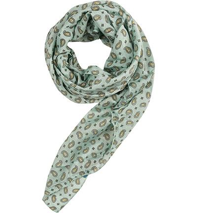CODELLO Schal : CODELLO Schal  Herren in grün aus Seide