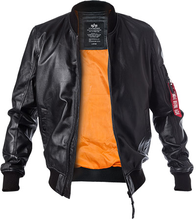 ALPHA INDUSTRIES M-1 Lederjacke 176151/03
