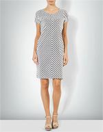 Barbour Damen Kleid weiß-schwarz LDR0158WH71