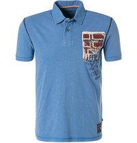 NAPAPIJRI Polo-Shirt hellblau