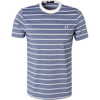 Fred Perry T-Shirt Oxford Stripe Pique