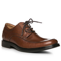 Clarks Un Aldric Park tan leather
