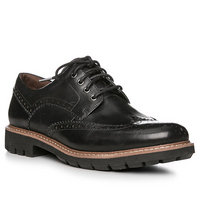 Clarks Batcombe Wing black leather