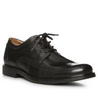 Clarks Un Aldric Wing black leather
