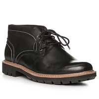 Clarks Batcombe Lo black leather