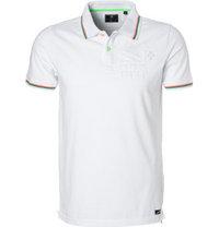 N.Z.A. Polo-Shirt white