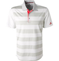 adidas Golf Polo-Shirt white-grey