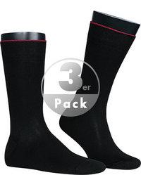 rosso e nero Socken 3er Pack