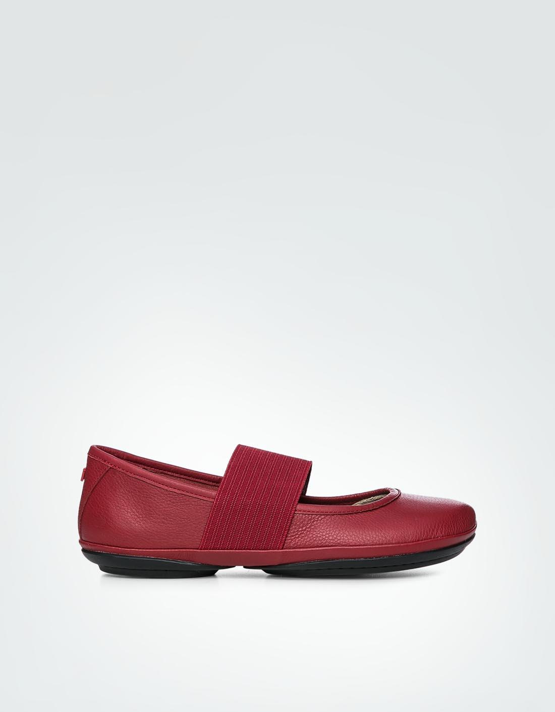 Camper Damen Schuhe Right Nina Rot Ballerinas Mit Komfortablem