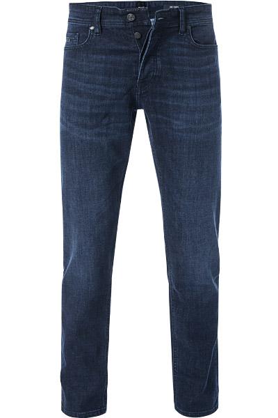 Artikel klicken und genauer betrachten! - Jeans im Tapered Fit von BOSS Erweitern Sie Ihr Denim-Repertoire mit dieser Jeans! Das 5-Pocket-Modell punktet mit einer dezenten Waschung sowie verdecktem Button-Fly-Verschluss. Zudem sorgt der anschmiegsame Baumwollmix für optimalen Sitz. Kombinieren Sie die Hose mit Sneakern und Shirts für lässige Outfits! | im Online Shop kaufen