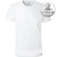 Lee T-Shirt 2er Pack weiß