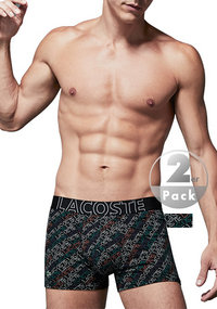 LACOSTE Colours Cotton Trunk 2er Pack