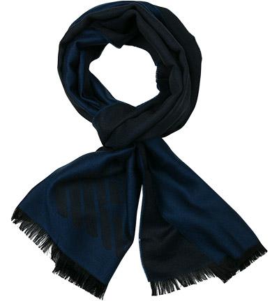 EMPORIO ARMANI Schal : EMPORIO ARMANI Schal  Herren in blau aus Wolle