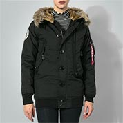 ALPHA INDUSTRIES Damen Jacke Polar 158046/03