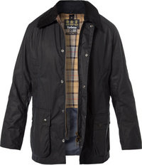 Barbour Jacke Ashby Wax navy
