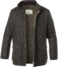 Barbour Jacke Hereford Wax olive