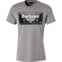 Barbour T-Shirt Flag dark grey marl