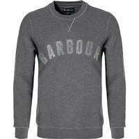 Barbour Sweatshirt Logo mid grey marl