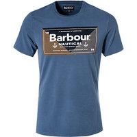 Barbour T-Shirt Flag mid blue