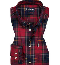 Barbour Hemd Wetheram red