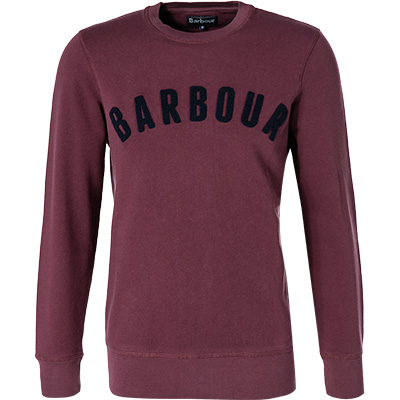 Barbour Sweatshirt Prep Logo merlot MOL0101RE94
