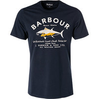 Barbour T-Shirt Country navy