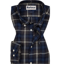 Barbour Highland Check charcoal